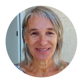 Edith Callait, trésorière de l'association les Mains du Coeur pour le Cambodge