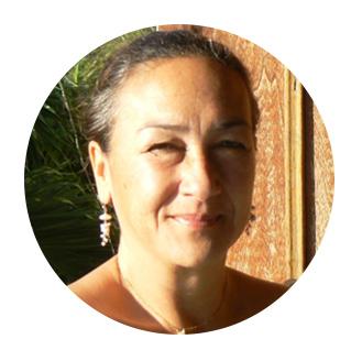 Lyna Trinh, présidente de l'association les Mains du Coeur pour le Cambodge